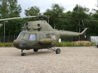 501 - Mil Mi2 Hoplite 501 East German Polizei part of the collection of Mr Piet Smets from Baarlo (PH) and stored in a small compound in Kessel (PH) - by Alex Smit