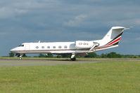 CS-DKA @ EGGW - Netjets Gulfstream  at Luton - by Terry Fletcher