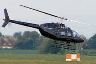 G-LSPA @ EGBJ - Bell 206B at Gloucestershire Airport