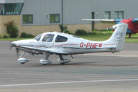G-PHEW @ EGBJ - Cirrus SR22 at Gloucestershire Airport