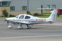 G-PHEW @ EGBJ - Cirrus SR22 at Gloucestershire Airport