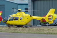 G-SPHU @ EGBJ - EC135T2 at Gloucestershire Airport
