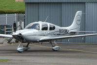 N696MD @ EGBJ - Cirrus SR22 at Gloucestershire Airport
