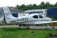 G-ZRZZ @ EGBJ - Cirrus SR22 at Gloucestershire Airport