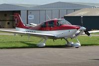 N666LG @ EGBJ - Cirrus SR22 at Gloucestershire Airport