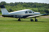 G-AXJV @ EGBM - Piper Pa-28-140 at Tatenhill