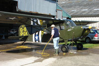 G-BPGK - Wash down for the Aeronca on a hot day