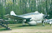 N1350X - Fairey Gannet AEW 3 of the Fleet Air Arm at the New England Air Museum, Windsor Locks CT