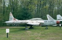 51-13575 - Lockheed F-94C Starfire of the USAF at the New England Air Museum, Windsor Locks CT