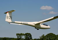 G-DDRN @ X3XH - Hoar Cross Airfield, home of the Needwood Forest Gliding Club - by Chris Hall