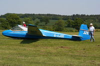 G-CJZE @ X3XH - Hoar Cross Airfield, home of the Needwood Forest Gliding Club - by Chris Hall