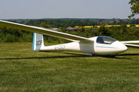 G-CGCF @ X3XH - Hoar Cross Airfield, home of the Needwood Forest Gliding Club - by Chris Hall