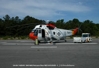 148045 @ NHK - One of 3 remaining Sea Kings in USN at Pax River - by J.G. Handelman