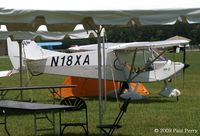 N18XA @ SFQ - Seen with a tent, from under a tent - by Paul Perry