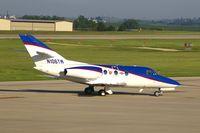 N106TW @ CID - Taxiing to Landmark FBO, after landing runway 27 - by Glenn E. Chatfield