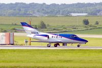 N106TW @ CID - Take-off roll Runway 27 - by Glenn E. Chatfield