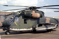 69-5784 @ MHZ - Another view of the 67 ARRS HH-53C on display at the 1980 Mildenhall Air Fete. - by Peter Nicholson