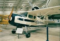 N25549 - Rearwin Model 8135 Cloudster at the New England Air Museum, Windsor Locks CT
