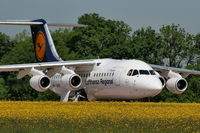 D-AVRN @ EGCC - Lufthansa - by Chris Hall