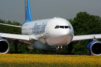 G-OJMB @ EGCC - Thomas Cook - by Chris Hall