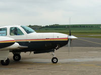 D-EVIK @ EGSU - Allison turboprop fits well on this conversion - by Andy Parsons