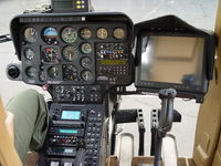 N108PP @ POC - Cockpit of N108PP - by Helicopterfriend