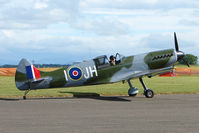 VH-IJH @ EGPT - Replica Spitfire at Perth - by Terry Fletcher