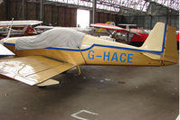 G-HACE @ EGPT - Vans RV-6A at Perth Airport in Scotland