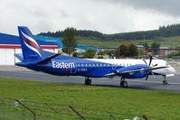 G-CDEA @ EGPD - Eastern Saab 2000 at Aberdeen