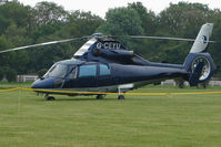 G-CEYU - One of the helicopters at Epsom on 2009 Derby Day