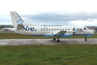 G-LGNH @ EGPD - Loganair / Flybe SF340 at Aberdeen