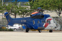 G-TIGF @ EGPD - Bristow Eurocopter AS332L at Aberdeen