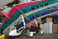 G-MYVM @ EGPT - Quantam 15 at Perth