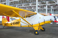 G-KAMP @ EGPT - 1954 Piper L18C at Perth Airport in Scotland