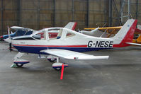 G-NESE @ EGPT - Tecnam P2002-JF at Perth Airport in Scotland