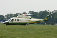 G-WIWI - Harrods S-76C - One of the helicopters at Epsom on 2009 Derby Day