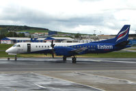 G-CDKA @ EGPD - Eastern Saab 2000 at Aberdeen