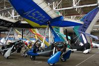 G-CCSY @ EGPT - Pegasus Quik at Perth Airport in Scotland