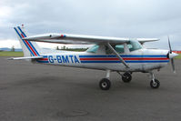 G-BMTA @ EGPT - Cessna 152 at Perth Airport in Scotland