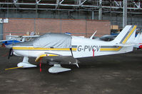 G-PVCV @ EGPT - Robin DR400/140 at Perth Airport in Scotland