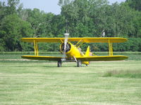N1120 @ D52 - Arriving at the Geneseo Fly-IN Breakfast. - by Terry L. Swann