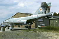 58-0318 @ EDFH - McDonnell F-101B Voodoo, ABDR-Plane at Hahn AB