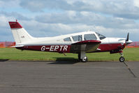 G-EPTR @ EGPT - Piper PA-28R-200 at Perth Airport in Scotland