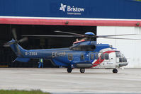 G-ZZSA @ EGPD - Bristows Eurocopter EC225LP at Aberdeen