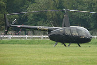 G-DCSG - One of the helicopters at Epsom on 2009 Derby Day