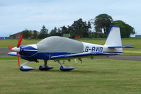 G-RVIO @ EGPT - Appropriate Registration for this RV-10 at Perth Airport in Scotland