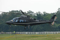 G-EMHC - One of the helicopters at Epsom on 2009 Derby Day