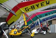 G-BYEW @ EGPT - Pegasus Quantam 15 at Perth Airport in Scotland