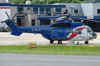 G-BLXR @ EGPD - Bristow Eurocopter AS332L at Aberdeen