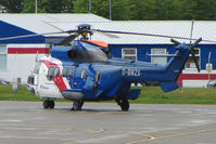 G-BWZX @ EGPD - Bristow Eurocopter AS332L at Aberdeen